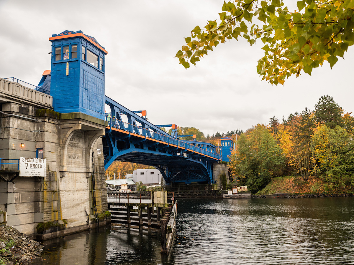 Fremont Bridge in Seattle