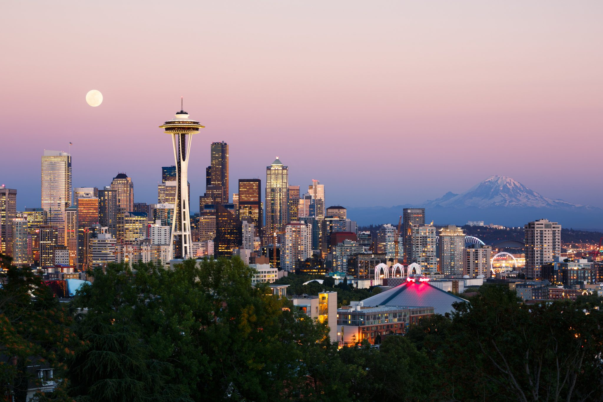Where to Watch the Sunset in Seattle