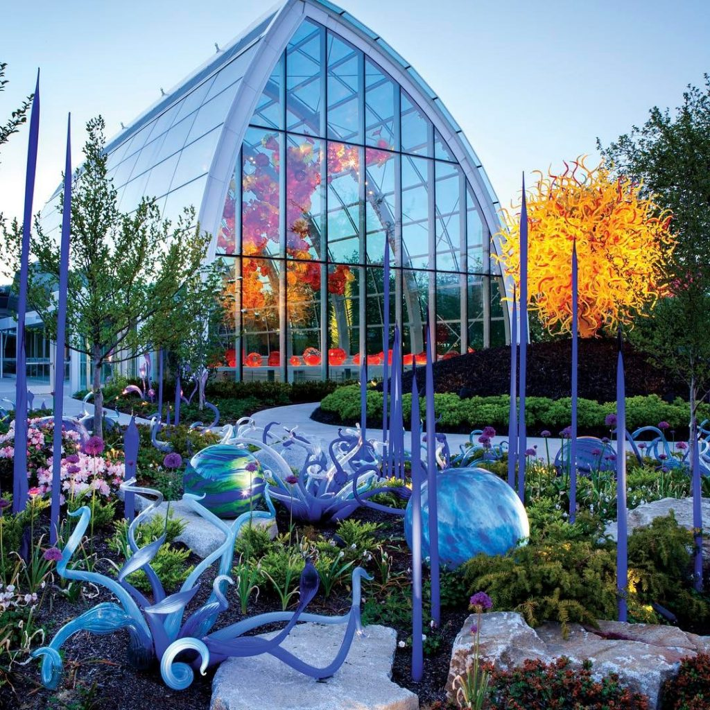 what to see at chihuly garden glass in seattle - Glass Garden
