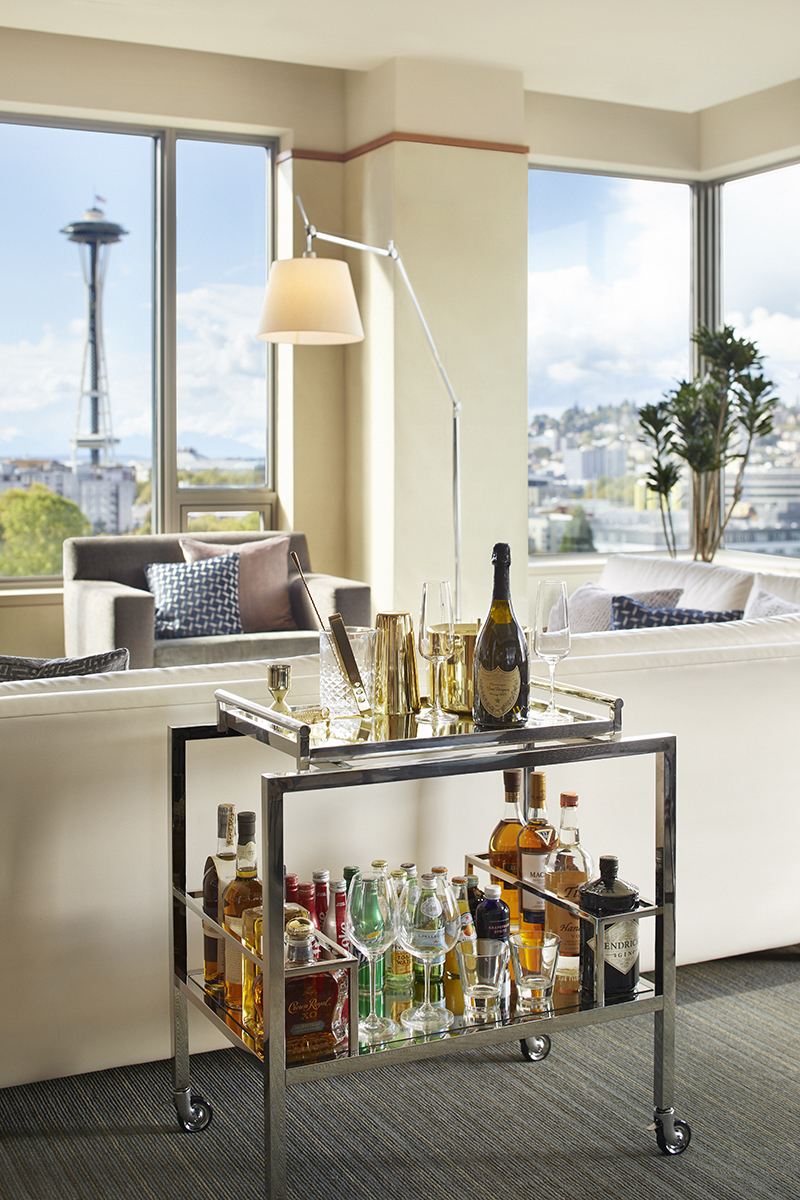 Denny Suite Bar Cart