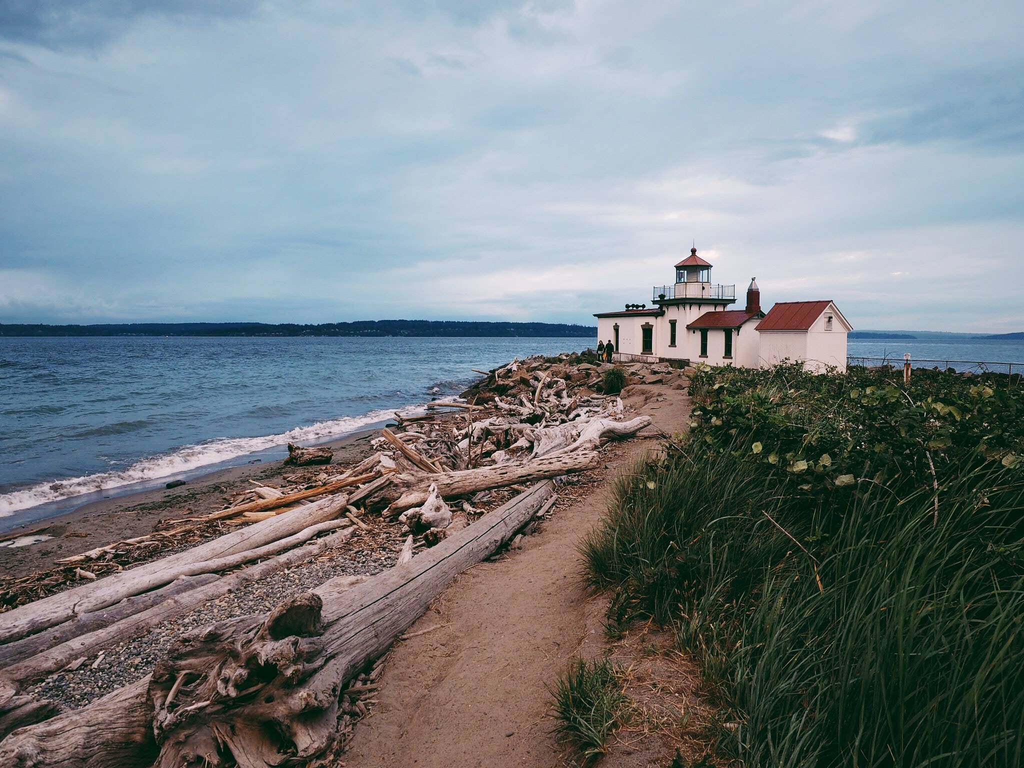 Discovery Park Seattle, West Point Lighthouse Photo by Paul Matheson on Unsplash