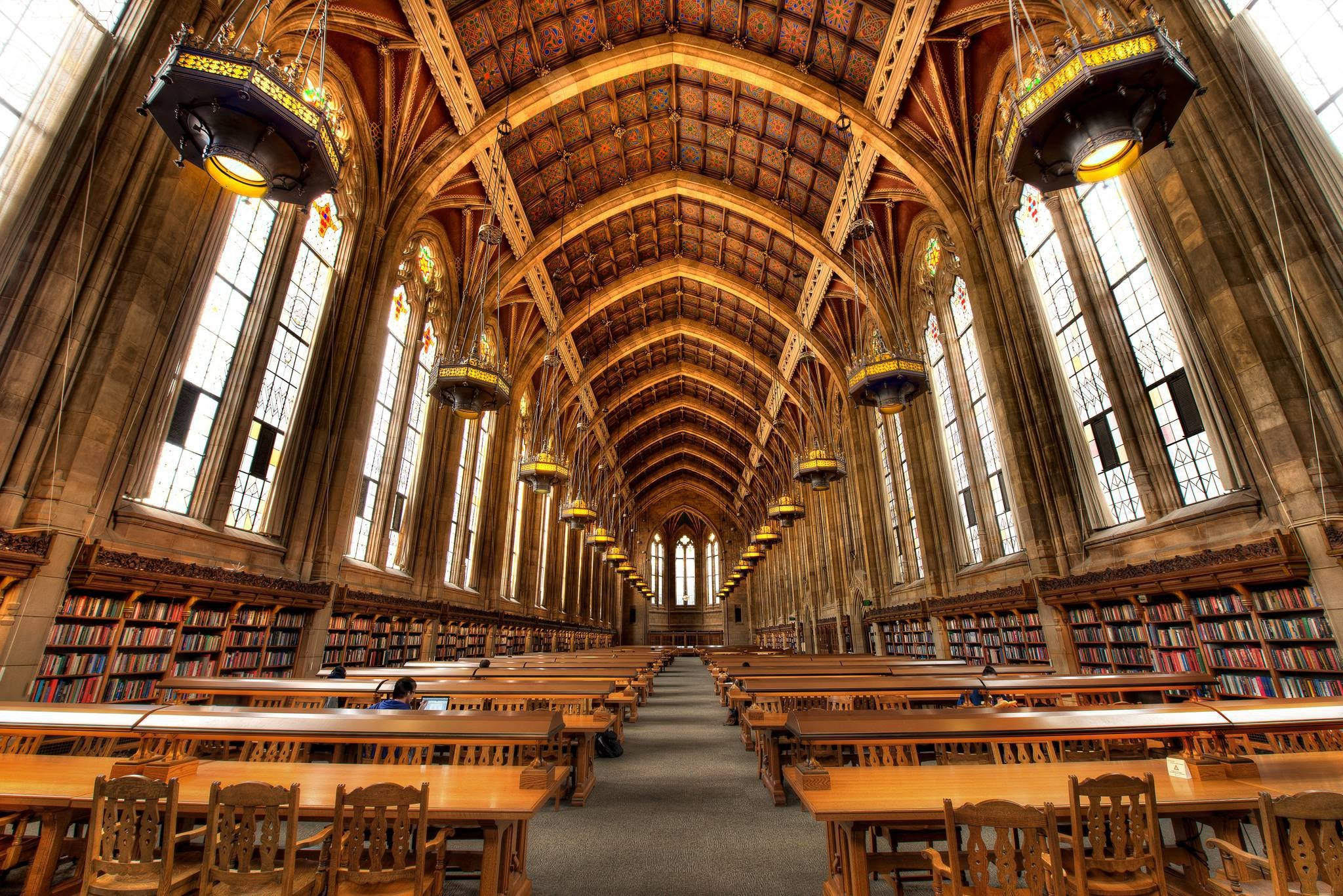 Seattle Staycation Guide #2 - Suzzallo Library at The University of Washington